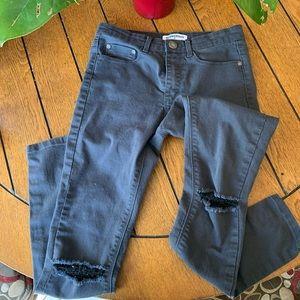 Glamorous Grey Skinny Jeans
